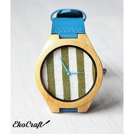 Drewniany zegarek BAMBOO STRAPS