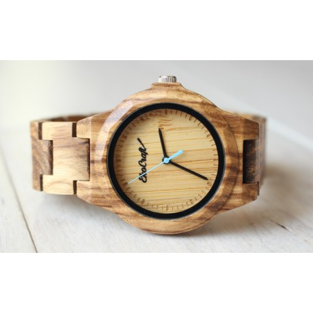 Damski drewniany zegarek seria FULL WOOD